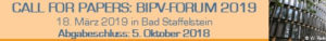 Call for Papers für das BIPV-Forum am 18.03.2019 und für das PV-Symposium am 19.-21.03.2019