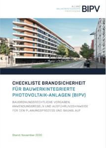 Checkliste Brandsicherheit für BIPV-Anlagen