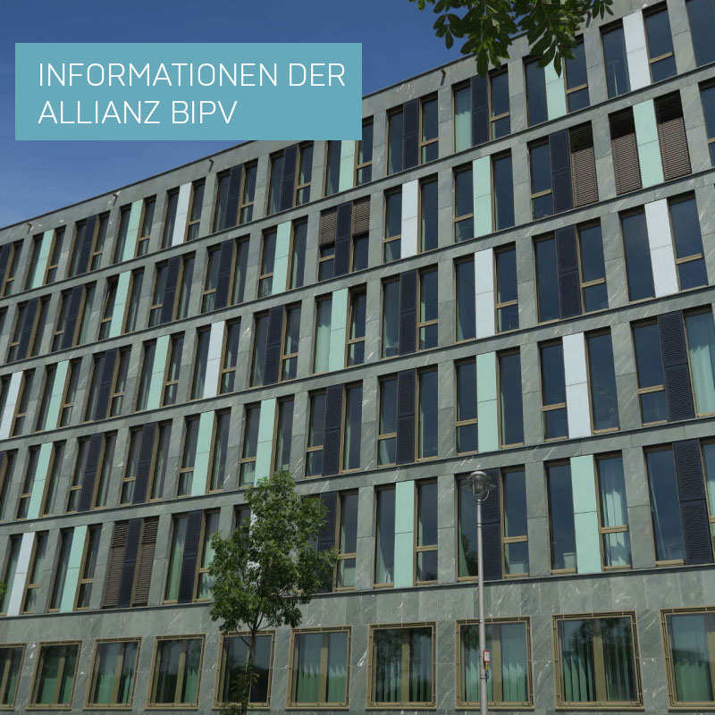 Informationen der Allianz BIPV